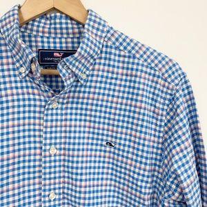 Vineyard Vines Flannel Slim fit whale soft Shirt